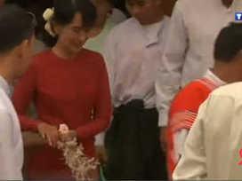 Aung San Suu Kyi élue députée au parlement birman | La résistance politique d'Aung San Suu Kyi en Birmanie | Scoop.it