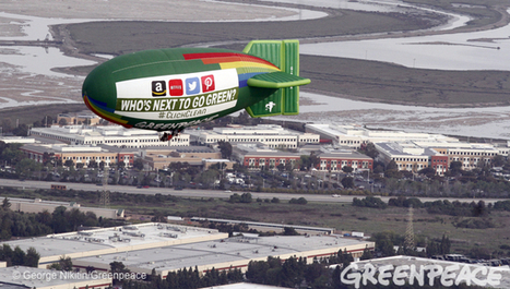 Greenpeace Flies Over Silicon Valley, Calls on Amazon, Twitter, Netflix to Go Green | Digital-News on Scoop.it today | Scoop.it