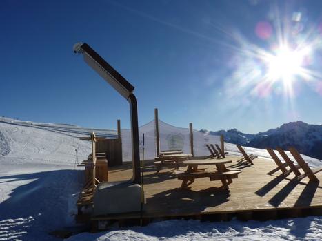 Une aire de pique-nique innovante sur le domaine skiable de Serre Chevalier | Pratique Glisse | Scoop.it