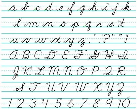 La escuela no debería ocuparse hoy de enseñar a escribir en cursiva | Educacion, ecologia y TIC | Scoop.it