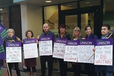 Reading council urged to pay women 'the money they are due' | Employment law | Scoop.it