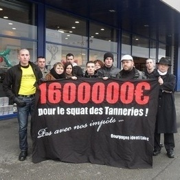 Dijon : un million et demi d'euros pour reloger la dizaine de squatteurs des «Tanneries»! | FAITES DU BÉNÉVOLAT dans les restos du coeur | Scoop.it