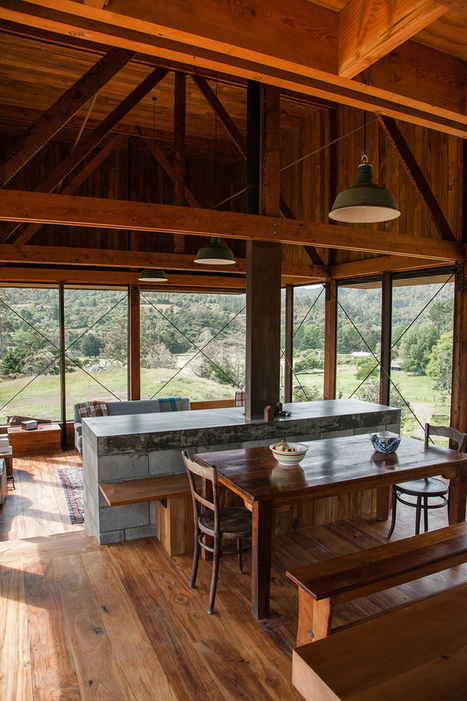 herbst architects constructs K valley house in new zealand | PhD | Scoop.it