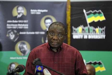 Ramaphosa Said to Mediate to Try Avoid South Africa Union Split - Businessweek   NGOs in Human Rights, Peace and Development   Scoop.it