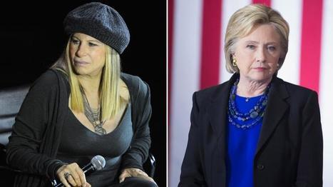 Barbra Streisand défend Hillary Clinton contre les médias - Magazine des Femmes | Mujerlife | Scoop.it