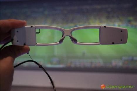 Sony dévoile un prototype de Smart Eyeglass | Culture geek | Scoop.it