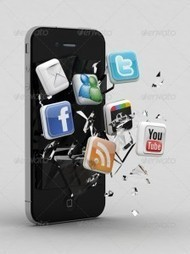 Doing Social Media Using Smartphones | Search Marketing with WSI | Scoop.it