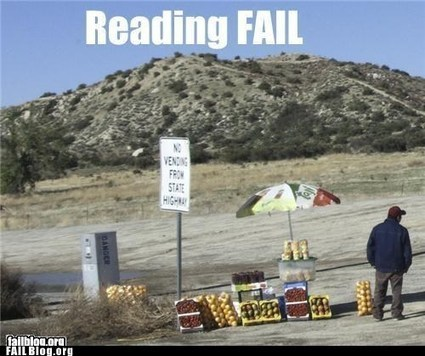 Reading Comprehension FAIL - FAIL Nation - Just classic fails | Reading Comprehension-Critical reading | Scoop.it