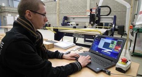 Lieu de création numérique, le Fab'Lab de Calais a ouvert ses ... - Nord Eclair.fr | tnveille | Scoop.it