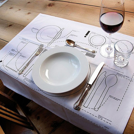 Design Etiquette:  Setting A Table | Design & Social Media | Scoop.it