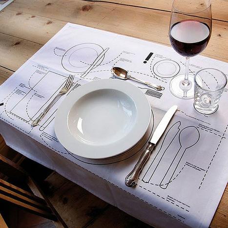 Design Etiquette:  Setting A Table   Design, Photography & Social Media   Scoop.it