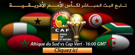 Afrique du Sud vs Cap Vert en direct live streaming 19-01-2013 CAN 2013 Al Jazeera Foot Eurosport Beinsport Canal + France | filmstorrents | Scoop.it