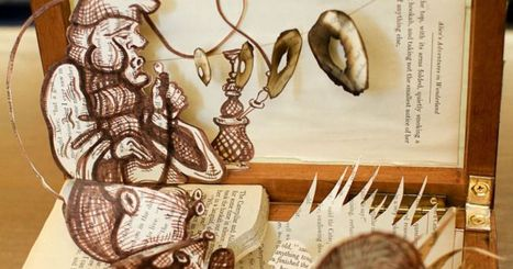 10 Beautiful Book Dioramas Putting Your Fourth Grade Project to Shame - PolicyMic | Fourth Grade | Scoop.it