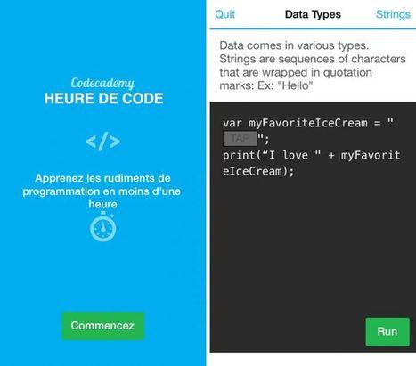 Codecademy : une superbe appli iPhone pour apprendre la programmation | Coaching digital | Scoop.it