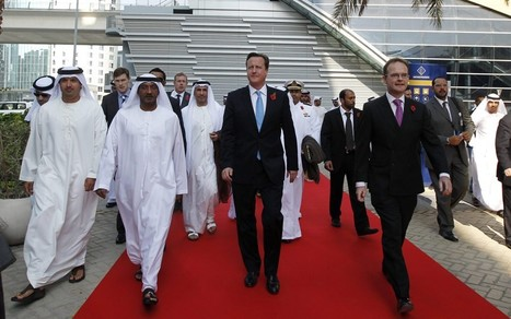 David Cameron defends 'legitimate' arms deals during Gulf states tour - Telegraph | The Indigenous Uprising of the British Isles | Scoop.it