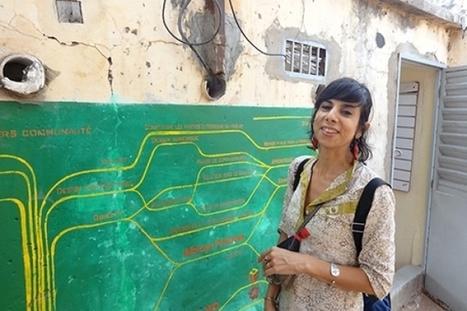 Son laboratoire d'art numérique met en valeur créations artistiques et Tic : Marion Louisgrand Sylla «vend» Kër Thiossane | UseNum - ArtsNumériques | Scoop.it