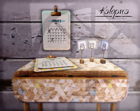 Calendar 2017 and stuff @ The Chapter 4 | 亗 Second Life Home & Decor 亗 | Scoop.it