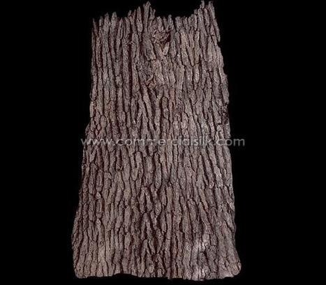 Bark Sheets -  Deep Texture Bark Panels | Artificial, Silk Trees Knowledge Center | Scoop.it