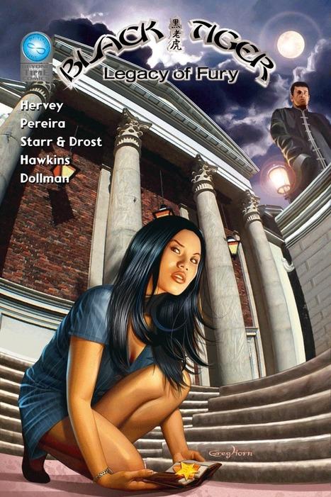 'Black Tiger' creator John Hervey on indie comic, short film trials | Titans Entertainment | Scoop.it