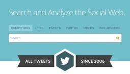 Cercare tutti i tweet su Twitter a partire dal 2006 e� ora possibile! | Tech Moleskine | Scoop.it