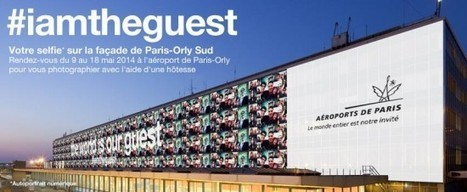 Un mur de selfies à Orly Sud - Etourisme.info   Communauté e-tourisme Rn2D   Scoop.it