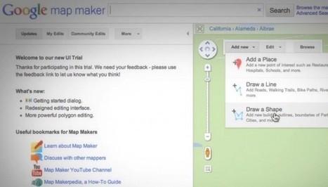 Google presenta un nuevo generador de mapas | EDUDIARI 2.0 DE jluisbloc | Scoop.it