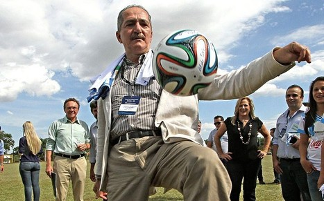 World Cup 2014: 'This will be the greatest party in the world', says Brazilian charged with delivering tournament - Telegraph | FIFA World Cup | Scoop.it