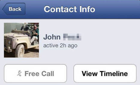 Facebook starts turning on free voice calls for iPhone users in the US (update) | All Technology Buzz | Scoop.it