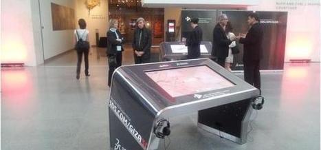Une table tactile géante pour les musées et collectivités inventée par la start-up normande Itekube | NTIC et musées | Scoop.it