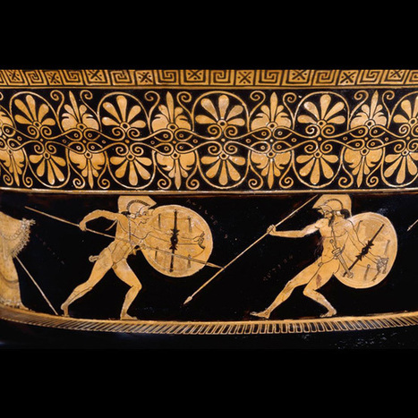 Scenes from Homer's 'The Iliad' in ancient art   OUPblog   Griego clásico   Scoop.it