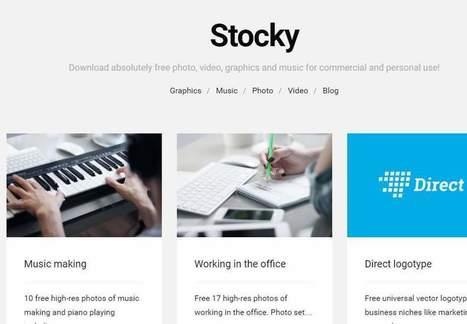 stocky, fotos gratis clasificadas para uso personal o comercial | Gestión TAC | Scoop.it
