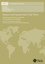 Measuring Empowerment? Ask Them: Quantifying qualitative outcomes from people's own analysis | Better Evaluation | Evaluation Digest | Scoop.it