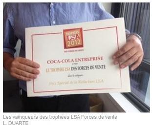 Et les lauréats des Trophées LSA des forces de vente sont...    agro-media.fr   Actualité de l'Industrie Agroalimentaire   agro-media.fr   Scoop.it