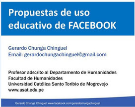Contar con TIC: Propuestas para un uso educativo de Facebook | Las TIC y la Educación | Scoop.it
