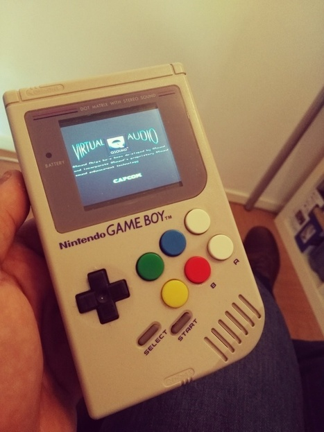 [MOD] Une Game Boy avec un Raspberry A+ et 6 boutons |  Open-Consoles | [OH]-NEWS | Scoop.it