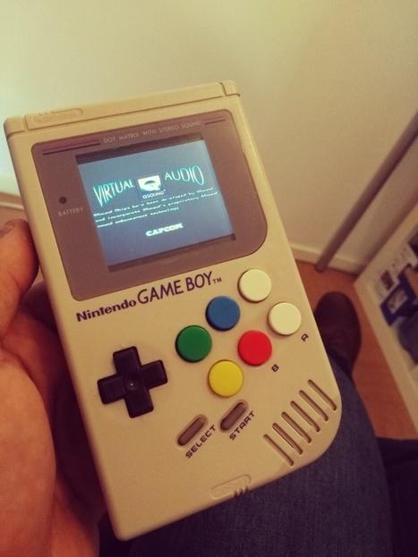 [MOD] Une Game Boy avec un Raspberry A+ et 6 boutons | Open-Consoles | [OH]-NEWS | Scoop.it