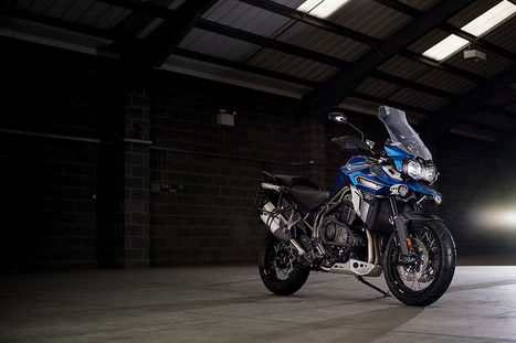 Choose epic - The New Triumph Tiger Explorer Range | Motorcycle Industry News | Scoop.it
