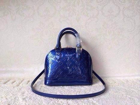 Louis Vuitton Small: Monogram Vernis Bag 91606 Peacock Shell Size: 25 * 19 * 11 | Designer Bags | Scoop.it