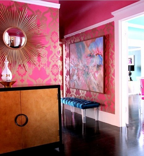 """Colorful Interiors   Alexanian Carpet & Flooring - """"The World at Your Feet"""" www.alexanian.com   Scoop.it"""