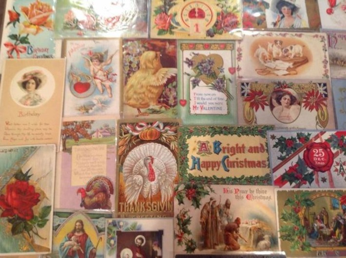 Postcard & Holiday History | Antiques & Vintage Collectibles | Scoop.it