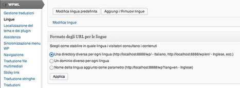 Wordpress multilingua con il plugin di traduzione WPML | Webhouse | ToxNetLab's Blog | Scoop.it