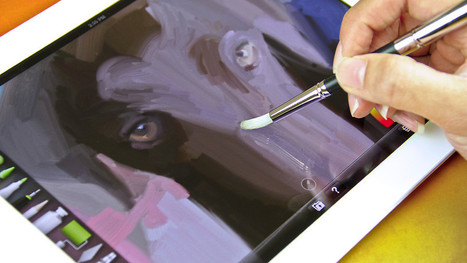A Paintbrush That Works On The iPad | iPads in Education | iPads in high school | Scoop.it