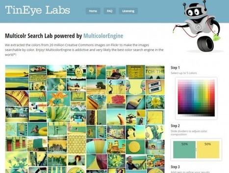 Buscador de imágenes basado en colores | CREATIVIDAD | Scoop.it