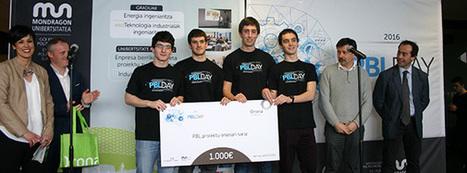 Mondragon Unibertsitateko talde batek irabazi du PBL Day-ko Txapelketa - Mondraberri | Mondragon Unibertsitatea | Scoop.it