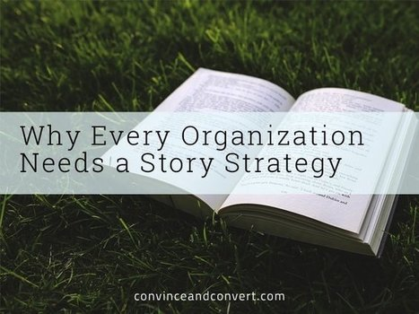 Why Every Organization Needs a Story Strategy | Business for small businesses | Scoop.it