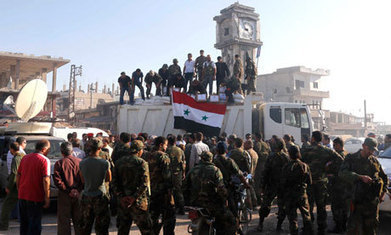 Syria: Assad's rearmed and regrouped forces sense turn of the tide - The Guardian | Media & Accountability | Scoop.it