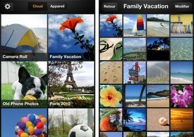 "Amazon lance ""Cloud Drive Photos"" pour iPhone 