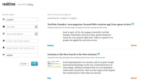 Bitly Launches New Social Search Engine: Realtime | Marketing Online, Social Media & SEO | Scoop.it