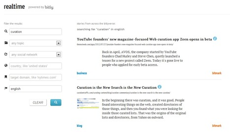 Bitly Launches New Social Search Engine: Realtime | Roman Archeology | Scoop.it