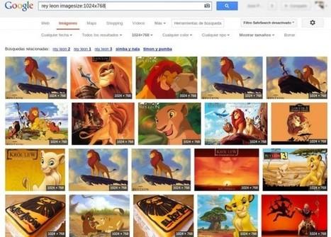 Cómo buscar imágenes de un tamaño exacto en Google | Sitios y herramientas de interés general | Scoop.it